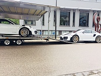 2 Porsche 991 GT2 RS loaded for Export to Korea