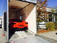 Ferrari 488 GTB  loaded for export
