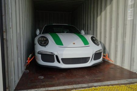 Porsche 991R safe for export and the journey to Qatar