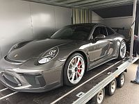 Porsche 991 GT3 MK2  manual shift loaded for export Japan